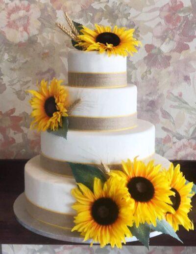 Tort nunta Floarea Soarelui Dorohoi Botosani